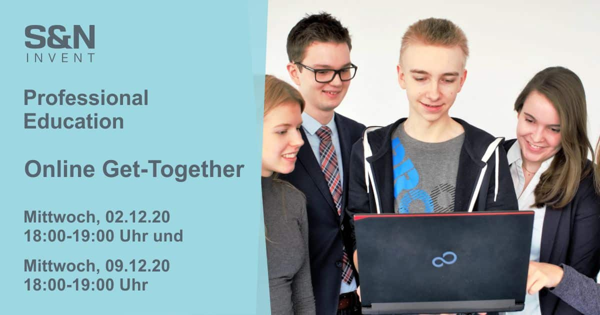 Online Get-Together: IT-Ausbildung und duales Studium bei S&N Invent