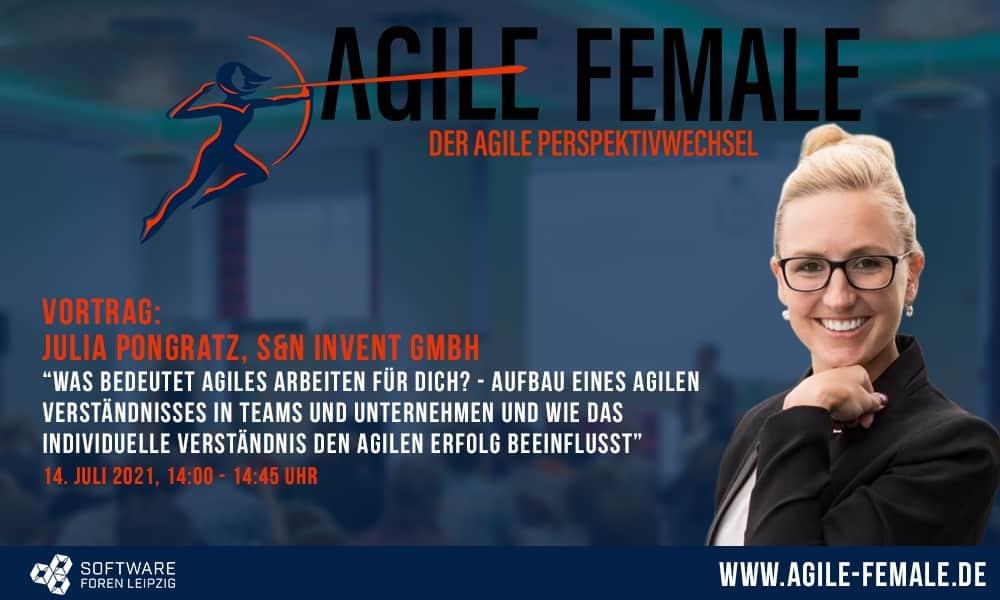 Vortrag auf der Konferenz Agile Female